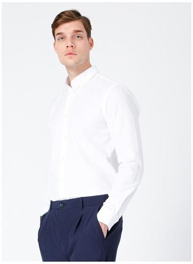 Fabrika Fabrika 511 Beyaz Erkek Gömlek Beyaz